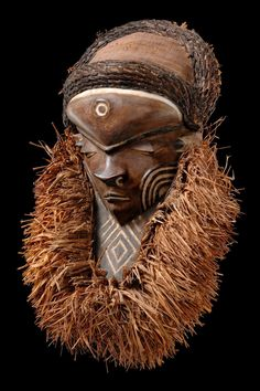 "Africa | Mask ""muyombo"" from the Pende people of DR Congo 