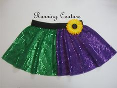 Joker inspired Sparkle Running Misses circle by RunningCouture