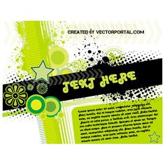 Abstract Text Page Free Vector