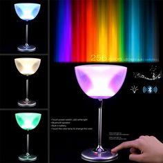 68.70$  Buy here - http://alif4f.worldwells.pw/go.php?t=32504965823 - Color magic lamp light led Touch color scene lights KTV colorful color LED lights with wireless Bluetooth, Bar Nightlight