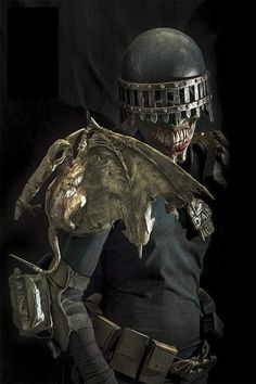 Obvious Winner - ow - This Terrifying Undead Demon Judge Death Cosplay is ActuallyReal