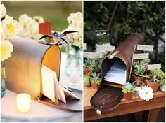 Lots of DIY tutorials & inspiration for wedding mailboxes http://su.pr/1yoFnD