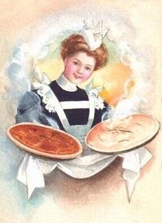 Maid and pies