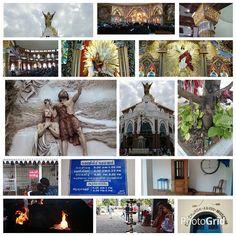 Varapuzha: First visit to the new edappally church.