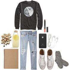 """""""A Cozy, Lovely Day"""" by dots-and-lines on Polyvore"""