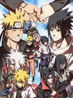Naruto And Sasuke 😍