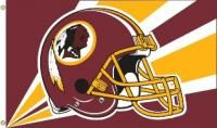 Washington Redskins 3'x 5' Premium Quality Flags