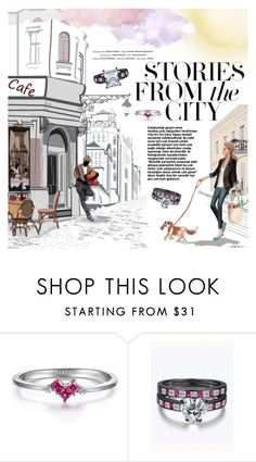 """""""Stories from the City"""" by metisu-fashion ❤ liked on Polyvore featuring Vision"""