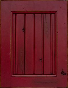a bit too red - barn red kitchen cabinets - Bing Images