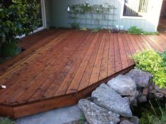 Floor: Strong Redwood Decking For Amazing House — namipomonavalley.org