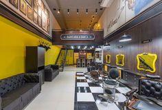 Barbearia A Banca   Barber Shop   Projeto e Execução Alex Freitas