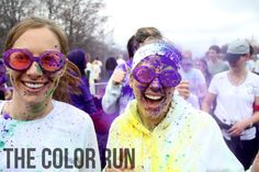 The Color Run-Steph, Kate, Sarah-This is coming to Ypsi in May 2014! I say we go as Team Aggie's Angels! Then you can check it off ur bucket list!