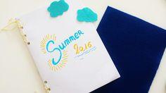 cahier de vacances décoration