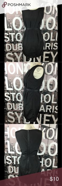 Forever 21 black sheath dress Excellent condition. Soft and silky. Great work dress. Size small. Length 33 Bust 17.5 Waist 13.5 Hips 19 Forever 21 Dresses