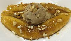 Honey-Nut Bananas Ingredients Tablespoon Honey- 2 Tablespoon Ripe Banana Lengthways) Chopped Nuts-Few Bananas, Honey, Ethnic Recipes, Food, Banana, Meals, Fanny Pack, Yemek, Eten