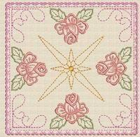 Rose Garden Quilt 4 - Ace Points | OregonPatchWorks