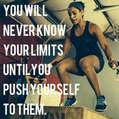 Always push yourself