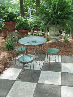 patio idea...TARA DILLARD: Child's Play