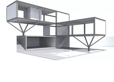 38 Trendy home office modern shipping containers Building A Container Home, Container House Plans, Layout Design, Shipping Container Homes, Shipping Containers, Container Restaurant, Planer Layout, Home Office Layouts, Container Architecture