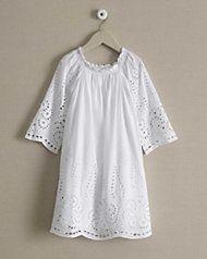 girls wisteria eyelet dress