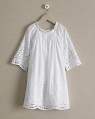 girls wisteria eyelet dress