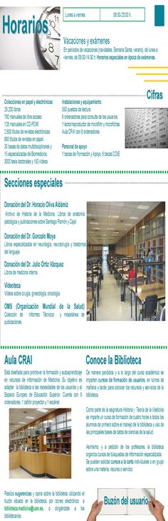Guía de centro Biblioteca de Educación parte interior (2007)