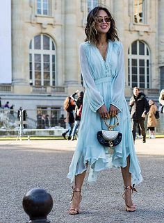 Light Blue Buttons Draped Irregular V-neck Long Sleeve Elegant Casual Midi Dress Source by annemgilliland dresses casual Blue Dress Outfits, Blue Dress Casual, Casual Summer Dresses, Dress Summer, Pastel Blue Dress, Light Blue Dresses, Light Blue Midi Dress, Lace Midi Dress, Long Sleeve Midi Dress