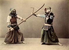 How has Kendo changed since the Meiji Restoration? Real Samurai, The Last Samurai, Samurai Armor, Kendo, Aikido, Karate, Vintage Photographs, Vintage Photos, Samurai Warriors 4
