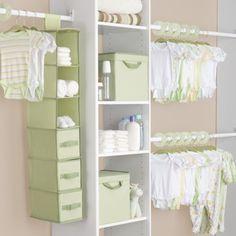 Delta Nursery Storage Set - Green (48 Pieces)