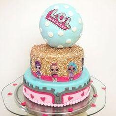 Funny Birthday Cakes, Birthday Party Themes, Birthday Ideas, Surprise Cake, Surprise Birthday, 8th Birthday, Lol Doll Cake, Chocolate Hazelnut Cake, Afternoon Tea