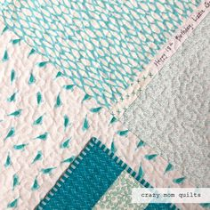 crazy mom quilts: lizzie's quilt, a 40 year finish and farewell Quilting Tips, Quilting Projects, Fiber Art Quilts, Crazy Mom, Quilt Labels, Colorful Quilts, Easy Quilts, 40 Years, Needle And Thread