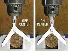 Drill Press center finder