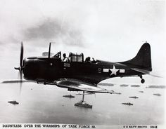 """September 6, 1940:  The first production Douglas scout bomber (SBD) is delivered to the U. S. Navy. The aircraft is given the name """"Dauntless."""""""