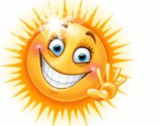 Goooooood morning my beautiful ray of sunshine. Animated Smiley Faces, Funny Emoji Faces, Emoticon Faces, Animated Emoticons, Funny Emoticons, Smileys, Smiley Emoji, Sun Emoji, Good Morning Smiley