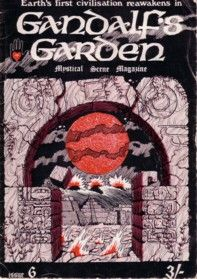 gandalf's garden, issue six, front cover