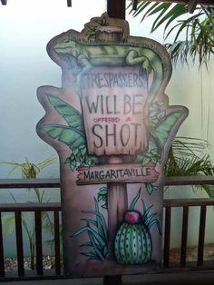 Sign from Margaritaville