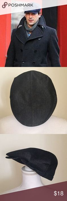 "Zara Men's Flat Hat Zara Men's Flat Hat. Black/Charcoal Gray. Measures approximately 9"" diameter. (Not sure if exact size. Slight wear inside of hat otherwise very good condition. Please feel free to ask questions! Zara Accessories Hats"