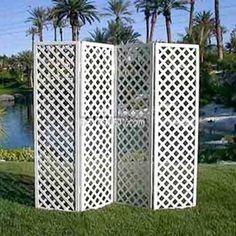 rsvp party rental: lattice folding screen $21; for ceremony backdrop?