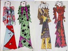 celia birtwell for ossie clark Ossie Clark, Floral Fashion, Fashion Art, Clarks, Celia Birtwell, Fashion Design Sketches, Christopher Kane, Boutique, Op Art