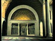 Basílica de Maxencio e Constantino. Reconstrución en 3d.