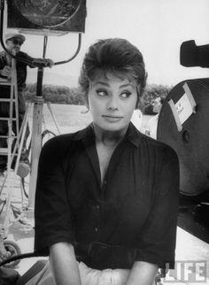 Sophia Loren, Italy 1961 by Alfred Eisenstaedt