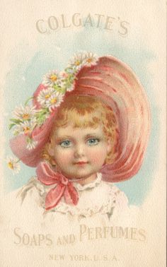 bumble button: Old Advertisment Cards from late 1890s Lovely Ladies and little Girls in Dreamy Pastels
