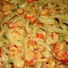 Rich creamy dish that is so simple, with only a handful of ingredients, yet very flavorful. Some recipes get too complicated and the original Crawfish Monica recipe. Use ONLY Louisiana Crawfish - Crawfish Monica, Crawfish Pasta, Crawfish Recipes, Cajun Recipes, Shrimp Recipes, Pasta Recipes, Cooking Recipes, Crawfish Fettucine Recipe, Soups