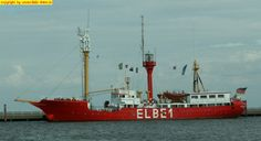 "Feuerschiff ""Elbe 1"" in Cuxhaven am 19. August 2008"