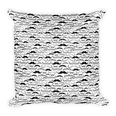 Mustache Matrix Pillow