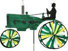 Old Tractor Spinner Color: Green Wind Sculptures, Garden Sculptures, Premier Designs, Wheelbarrow, Outdoor Gardens, Tractors, Great Gifts, Stylish, Statues