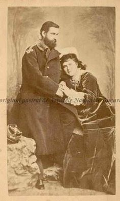 King Carol I and his wife Elisabeth (Carmen Sylva) Queen Mary, King Queen, Romanian Royal Family, Royal King, Eastern Europe, Royalty, History, Crafts, Diy