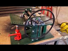 Macchina per torcere il ferro Fai Da Te Homemade Iron twist machine - YouTube