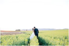 Willing to travel the WORLD to shoot your wedding! Bridal Shoot, Bridal Gowns, Wedding Dresses, Yellow Fields, Loose Updo, Rustic Wedding Venues, Bride Groom, Vanilla, Peplum