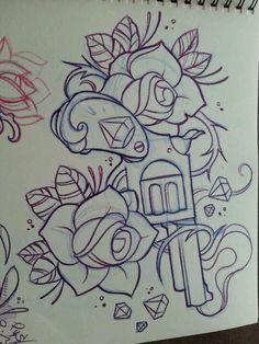 rockabilly tattoo flash | Rockabilly tattoos